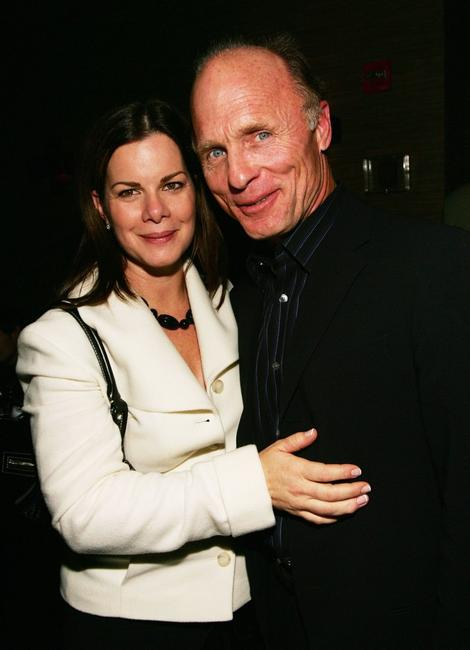Ed Harris and Marcia Gay Harden at the screening of