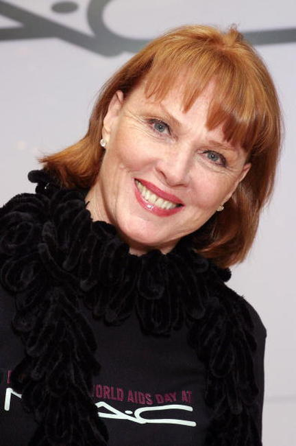 Mariette Hartley at the MAC AIDS Fund.