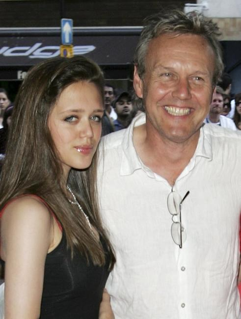 Anthony Head and his Guest at the UK premiere of