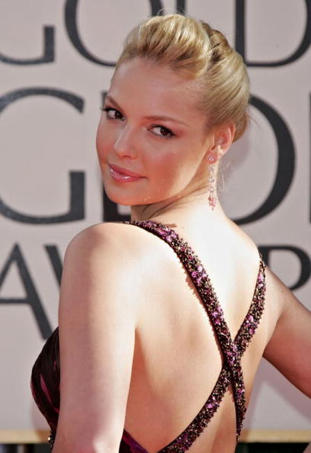 Katherine Heigl the 63rd annual Golden Globe Awards in Beverly Hills.