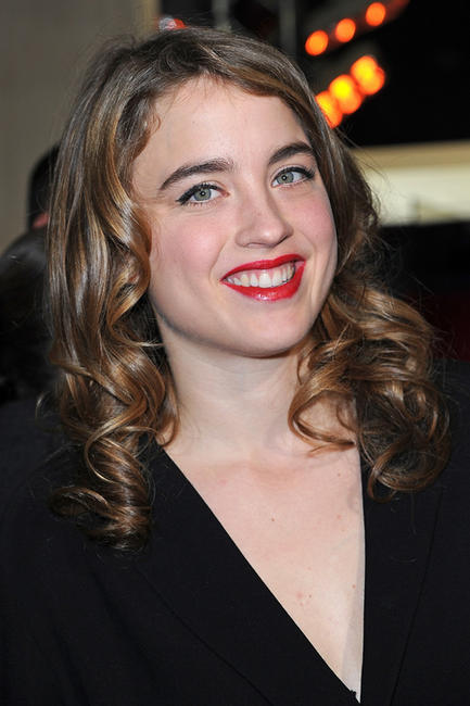 Adele Haenel at the 37th Cesar Film Awards in Paris.