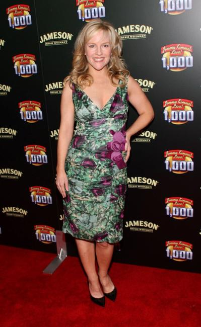 Rachael Harris at the celebration of Jimmy Kimmel Lives 1000th episode with Jameson Irish Whisky.