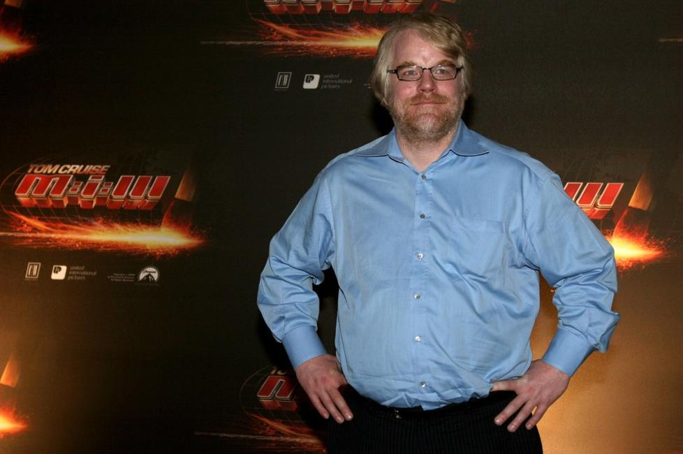 Philip Seymour Hoffman at the world premiere of