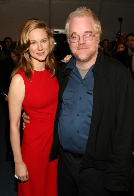 Philip Seymour Hoffman and Laura Linney at the Tribute to Laura Linney and screening of