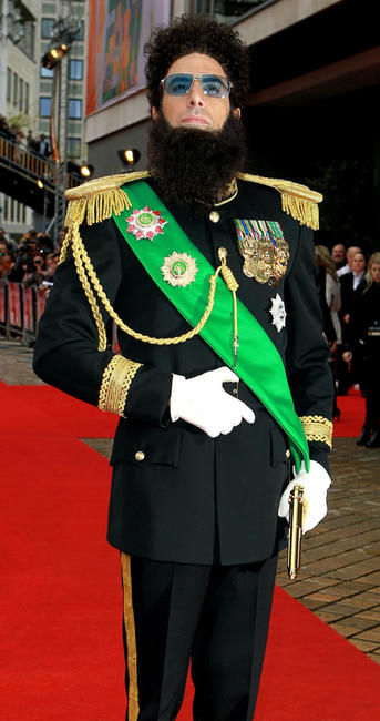 Sacha Baron Cohen at the world premiere of