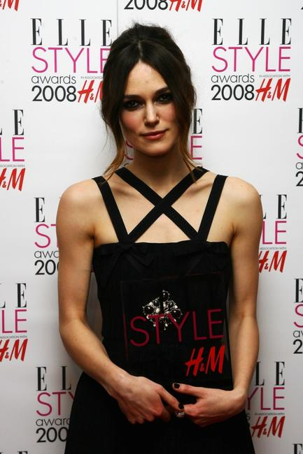 Keira Knightley at the Elle Style Awards 2008.