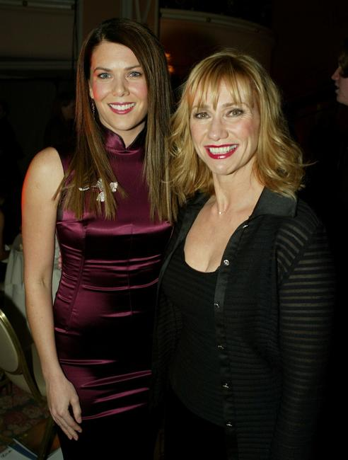 Kathy Baker and Lauren Graham at the 9th Annual Critics' Choice Awards.