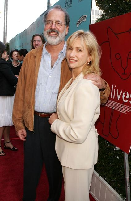 Kathy Baker and husband Steve Robman at the Los Angeles Film Festival premiere of