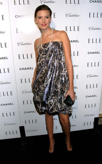 Maggie Grace at the Elles 14th Annual Women in Hollywood party.