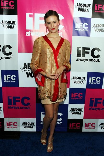 Maggie Grace at the IFC party celebrating the spirit of independent film.