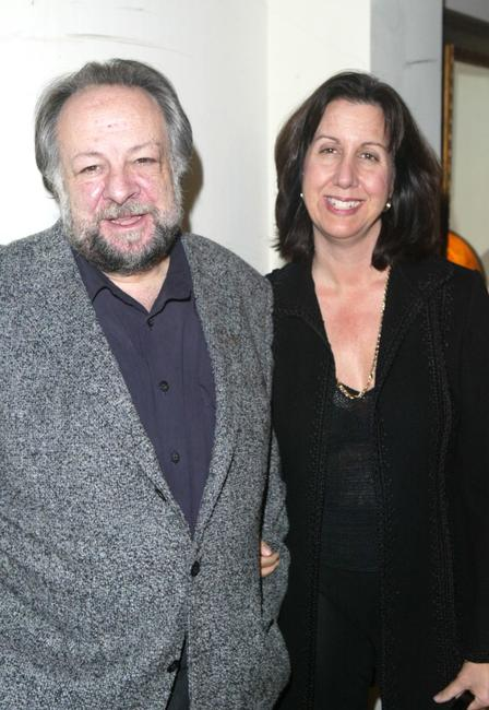 Ricky Jay and his wife Chrisann Verges at the HBO's Pre Golden Globes private reception.