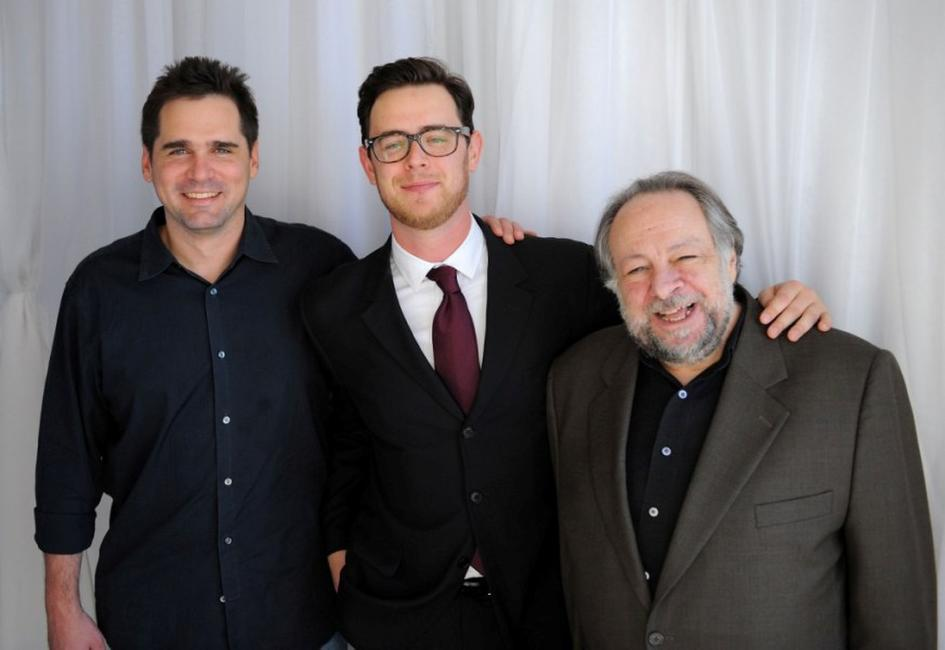 Sean McGinly, Colin Hanks and Ricky Jay at the 2008 CineVegas Film Festival.