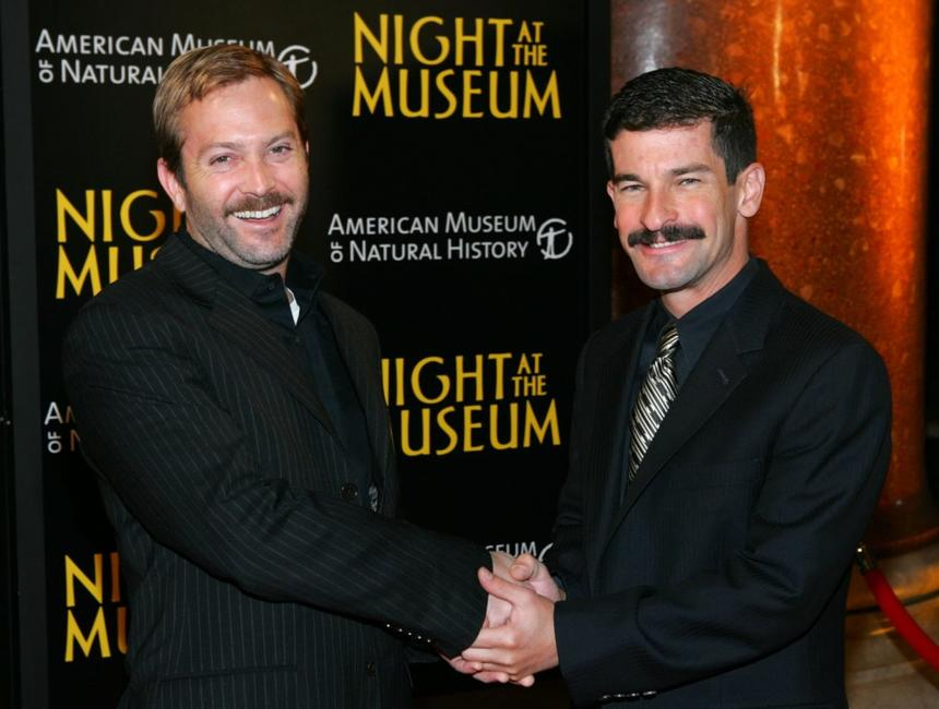 Thomas Lennon and Ben Garant at the world premiere of