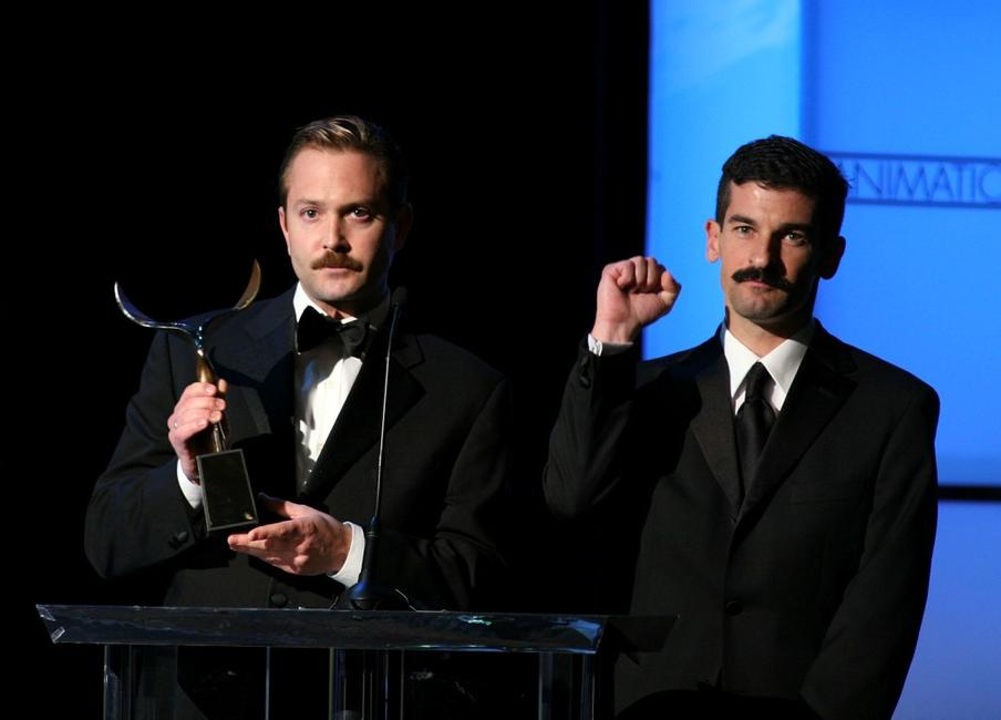 Thomas Lennon and Robert Ben Garant at the 2007 Writers Guild Awards.