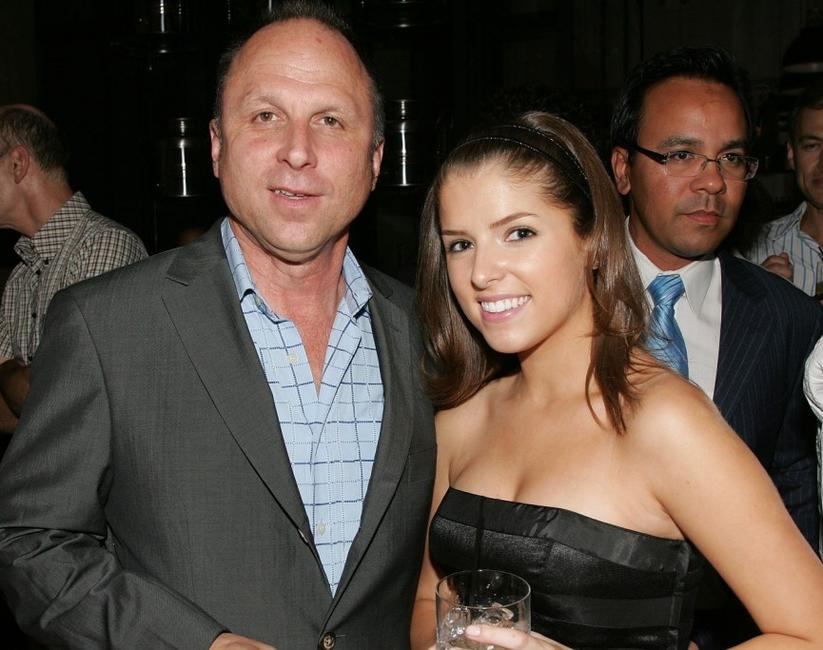 Bob Berney and Anna Kendrick at the after party of the premiere of