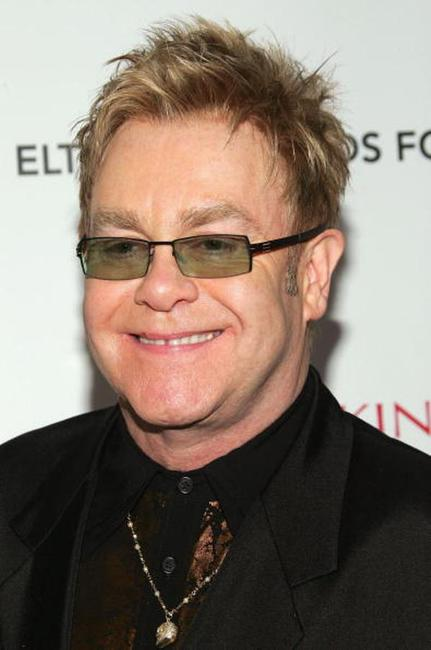 Elton John at the Elton John AIDS Foundation's Fifth Annual Benefit