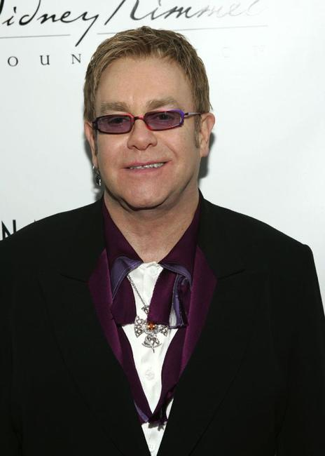 Elton John at the Elton John & David Furnish CO-Chair AIDS Foundation Benefit.