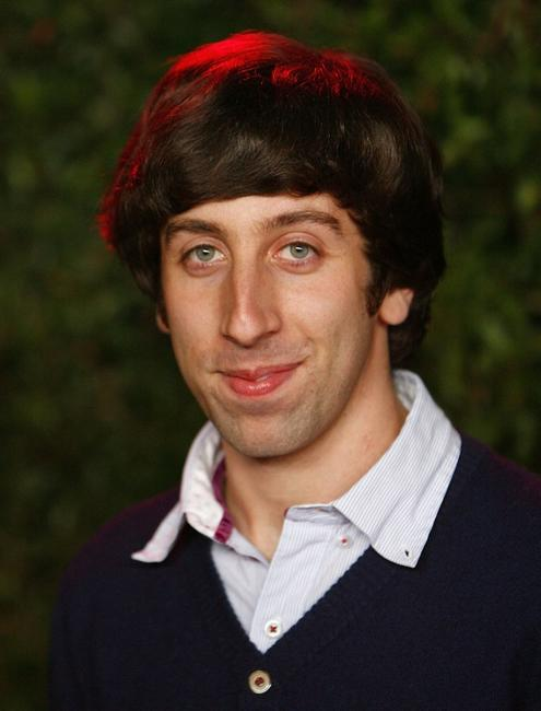 Simon Helberg at the CBS celebration of Monday night season premieres.