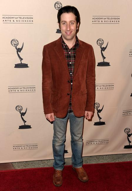 Simon Helberg at the Academy of Television Arts and Sciences' Evening with