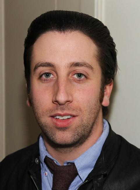 Simon Helberg at the Golden Globes party hosted by T Magazine and Dom Perignon.