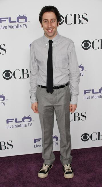 Simon Helberg at the CBS Comedies' Season Premiere Party.