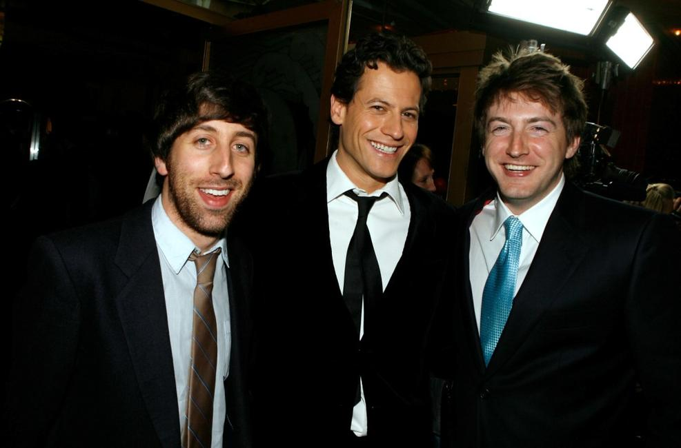 Simon Helberg, Ioan Gruffudd and Fran Kranz at the premiere of