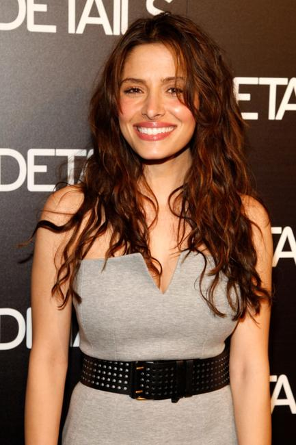 Sarah Shahi at the Details magazine