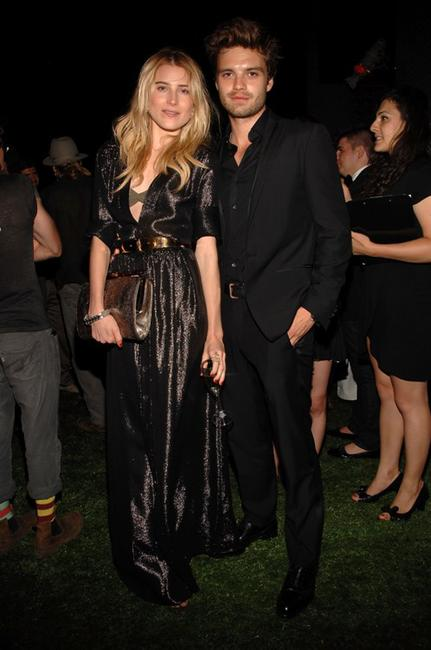 Dree Hemingway and Sebastian Stan at the Salvatore Ferragamo's