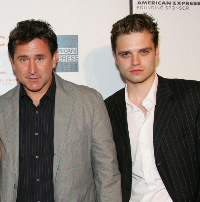Anthony LaPaglia and Sebastian Stan at the premiere of