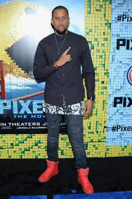 Affion Crockett at the New York premiere of