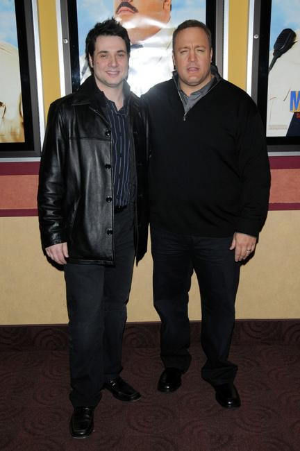 Adam Ferrara and Kevin James at the special screening of