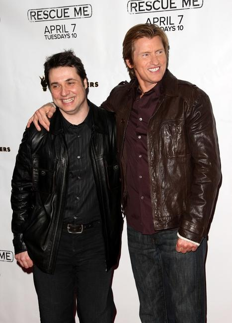 Adam Ferrara and Denis Leary at the premiere of