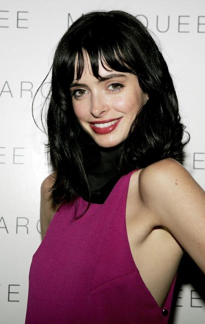 Krysten Ritter at the LaSalleHolland Tribeca Film Festival party.
