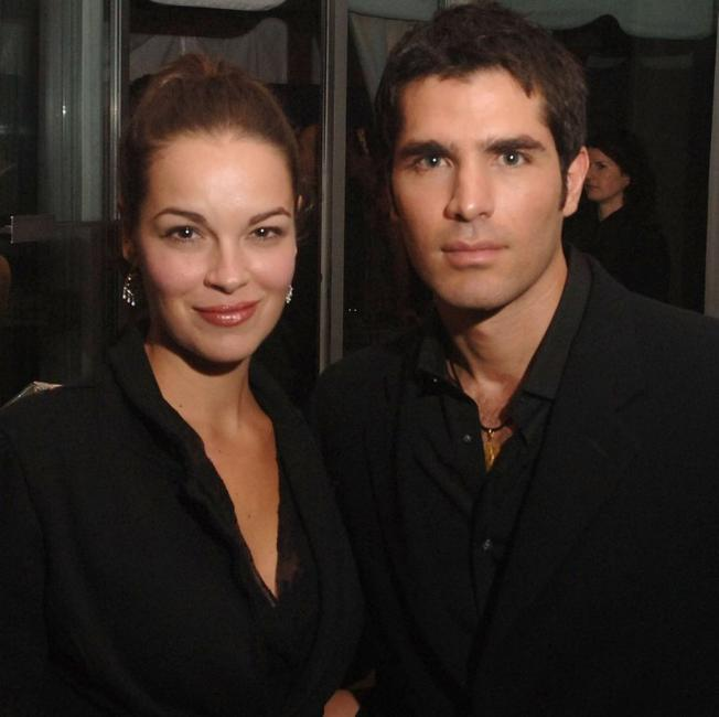 Tammy Blanchard and Eduardo Verastegui at the Toronto International Film Festival ICM Cocktail Reception.