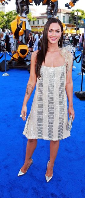 Megan Fox at the premiere of