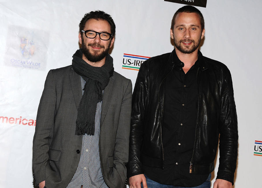 Director Michael R. Roskam and Matthias Schoenaerts at the 7th Annual