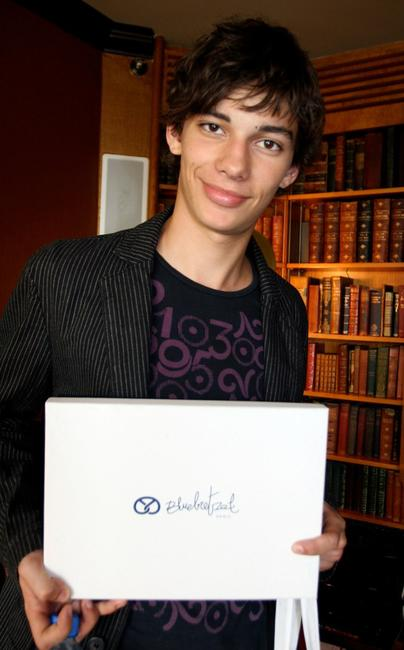 Devon Bostick at the DPA Gifting Lounge during the 2008 Toronto International Film Festival.