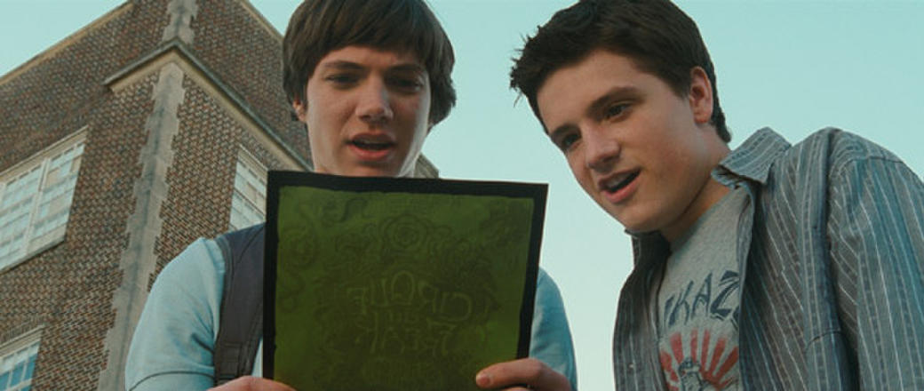 Chris Massoglia and Josh Hutcherson in