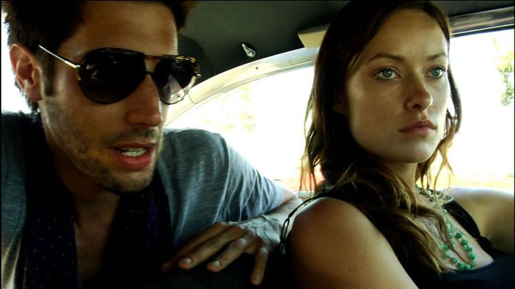 Shawn Andrews and Olivia Wilde in