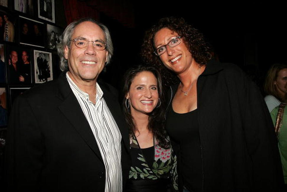 Robert Klein, Judy Gold and Melanie Roy-Friedman at the Comedy Central special screening of