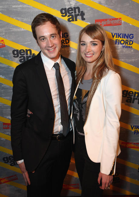 Alexander Poe and Kristen Connolly at the New York premiere of