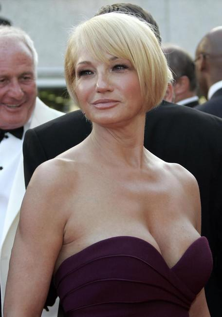 Ellen Barkin at the premiere of
