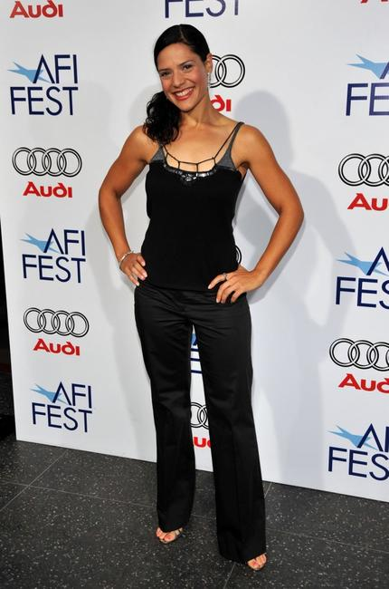 Monique Curnen at the 2008 AFI Fest centerpiece gala screening of