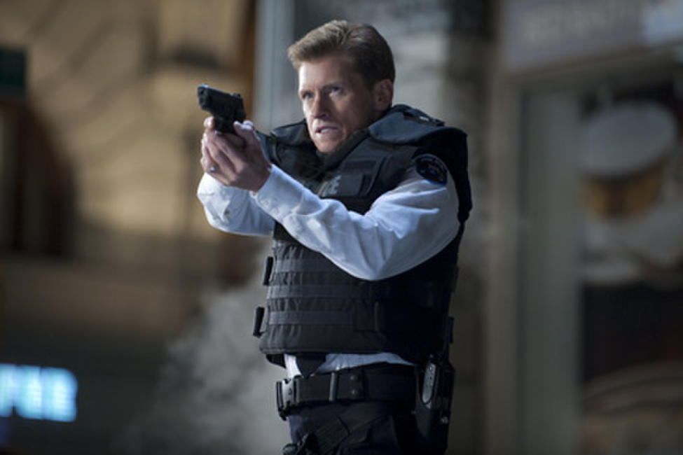 Denis Leary as George Stacy in ``The Amazing Spider-Man.''