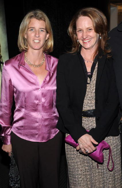 Rory Kennedy and Melissa Leo at the screening of