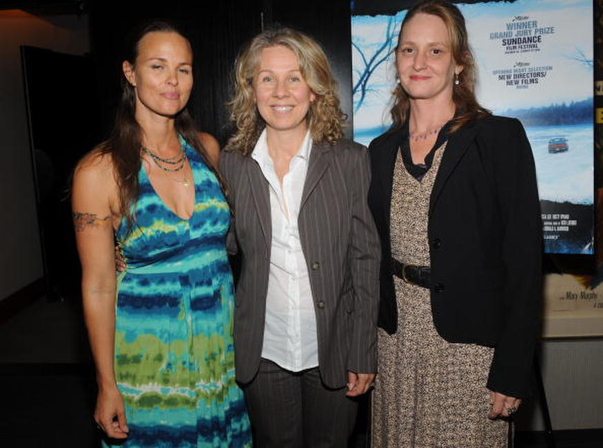 Heather Rae, Courtney Hunt and Melissa Leo at the screening of