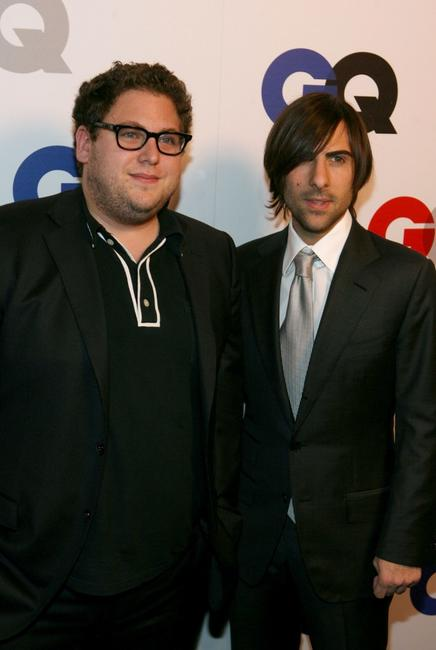 Jonah Hill and Jason Schwartzman at the GQ 2007 Men Of The Year celebration.