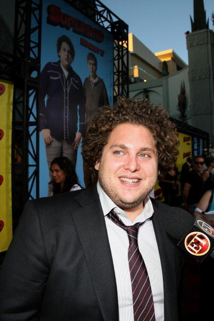 Jonah Hill at the Hollywood premiere of