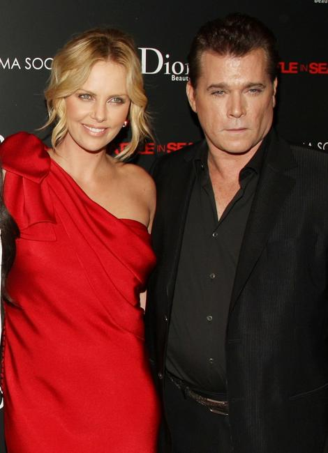 Charlize Theron and Ray Liotta at the screening of