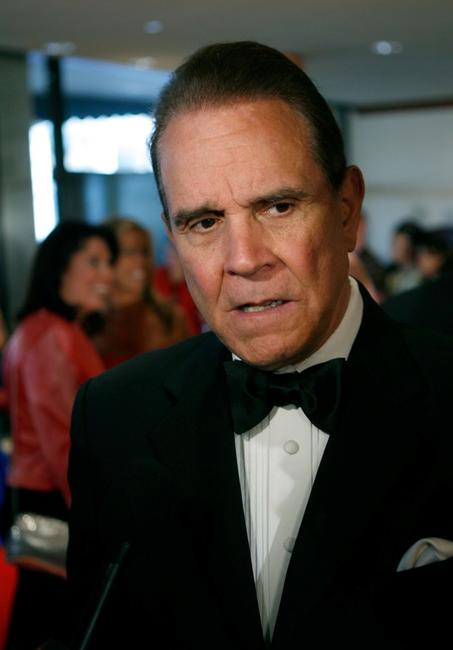 Rich Little at the White House Correspondents Association Dinner.